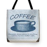 Coffee 1 Scrapbook Tote Bag