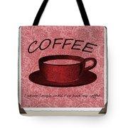 Coffee 2 Scrapbook Tote Bag