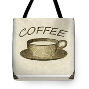 Coffee 3-2 Scrapbook Tote Bag