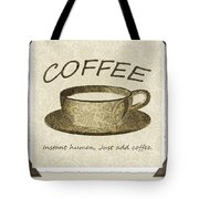 Coffee Cup 3 Scrapbook Tote Bag