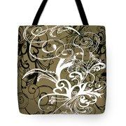 Coffee Flowers 1 Olive Tote Bag