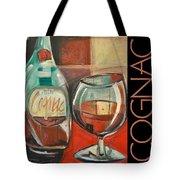 Cognac Poster Tote Bag