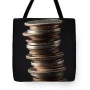 Coin Stack 1 Tote Bag