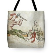 coinage - Gothic mural Tote Bag