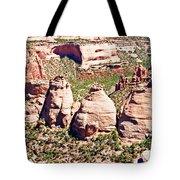 Coke Ovens - Colorado National Monument Tote Bag