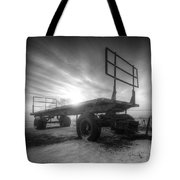 Cold And Empty Tote Bag