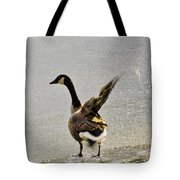 Cold Goose Bath Tote Bag