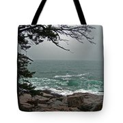 Cold Green Surf Tote Bag by Skip Willits