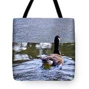 Cold Swim In The Pond Tote Bag