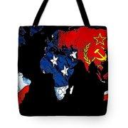 Cold War Map Tote Bag