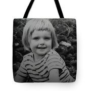 Colette Happy 4 Years Old In France Tote Bag
