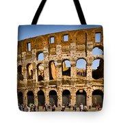 Coliseum Facade Tote Bag