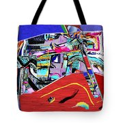 Collage 128 Tote Bag