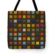 Collage Color Study Lll Tote Bag
