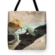 Collard Lizard Tote Bag