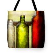 Collector - Bottles - Still Life Of Three Bottles  Tote Bag