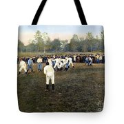 College Footbal Game, 1889 Tote Bag