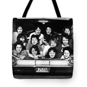 Collegiate Fun, 1960 Tote Bag