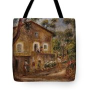 Collette's House At Cagne Tote Bag