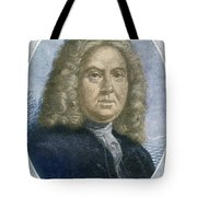 Colley Cibber, English Poet Laureate Tote Bag