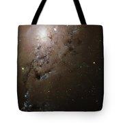 Colliding Galaxies Ngc 1275, Hubble Tote Bag
