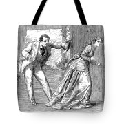 Collins: Woman In White Tote Bag