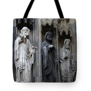 Cologne Cathedral Statues Tote Bag