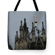 Cologne Cathedral Towers Tote Bag