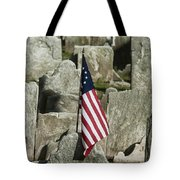 Colonial Cemetery Tote Bag