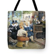 Colonial Smoking Protest Tote Bag
