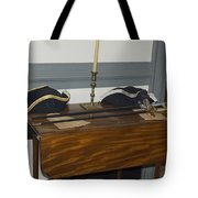 Colonial Soldiers Artifacts Tote Bag