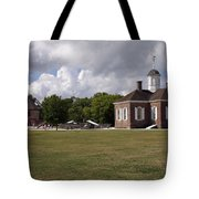 Colonial Williamsburg Scene Tote Bag