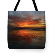 Color Burst Reflection  Tote Bag