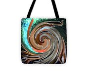 Color In Motion Tote Bag by Virginia Bond