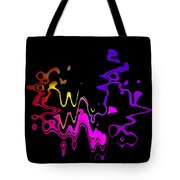Color Melting Abstract Tote Bag