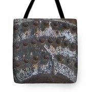 Color Of Steel 7a Tote Bag