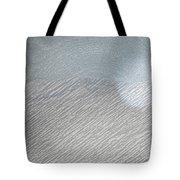 Color Sketch Of Wyoming Snow Tote Bag