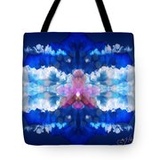 Color Sky Orchid Tote Bag