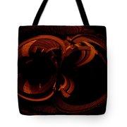 Color Study 03 Rust Tote Bag