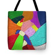 Color Tectures Tote Bag