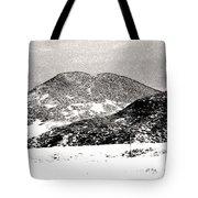 Colorado 2 In Black And White Tote Bag