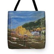 Colorado Almost Winter Tote Bag