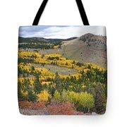 Colorado Autumn Aspens Colors Tote Bag