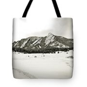 Colorado Boulder Flatirons  Tote Bag
