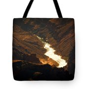 Colorado River Rapids Tote Bag