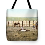 Colorado: Roping A Steer Tote Bag