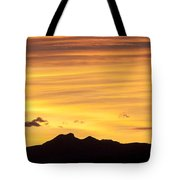 Colorado Sunrise Landscape Tote Bag