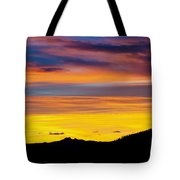 Colorado Sunrise -vertical Tote Bag