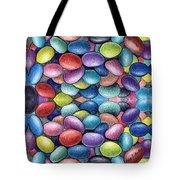 Colored Beans Design Tote Bag