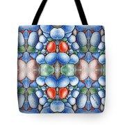 Colored Rocks Design Tote Bag